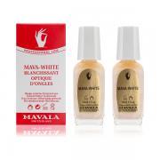 Mavala Оптическое отбеливающее средство для ногтей Мава-Уайт Mava-White 2х10 9070550 (проф.)