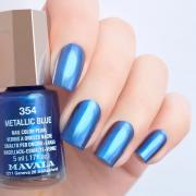 Mavala Лак для ногтей Синий кобальт/Metallic Blue 9091354